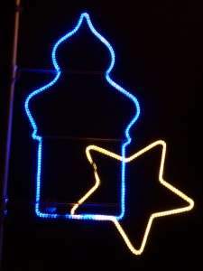 Offizielle Weihnachtsbeleuchtung Würenlos 2014-1